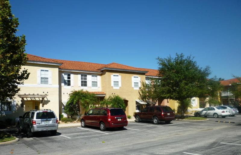 Front view of our townhouses