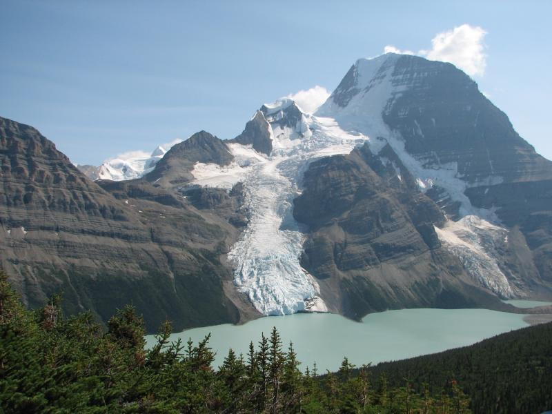 Heli Tours & Heli Hiking in Mount Robson Park and Area Available from Valemount.