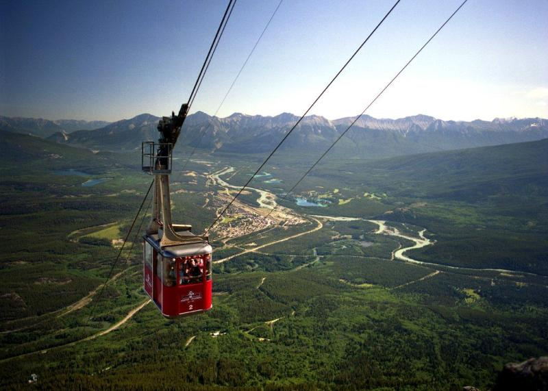 Take a Ride up the Jasper TramWay. Only a 90 Minute Drive Away.