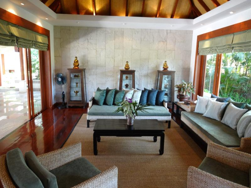 Living Room on the pool terrace