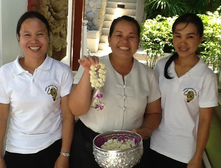 You will have a lovely welcome from Lily, Mon and Nang
