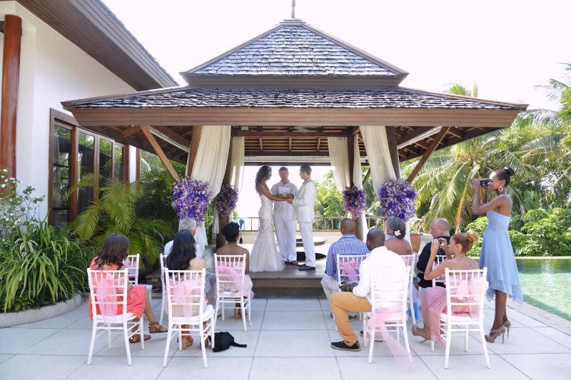Wedding in Villa Sanyanga
