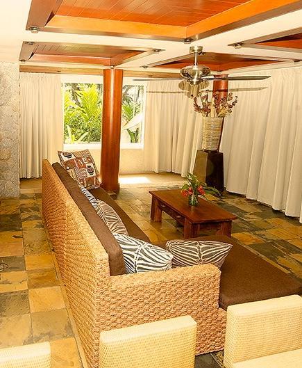 Lounge area of Garden Suite