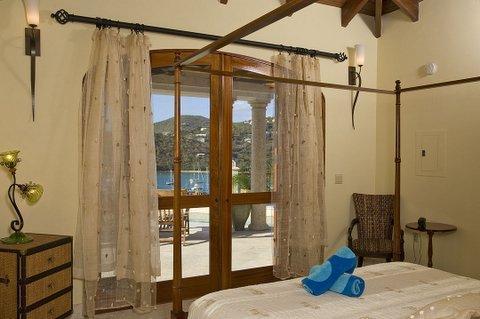 West Master suite avec a/c, lit king size