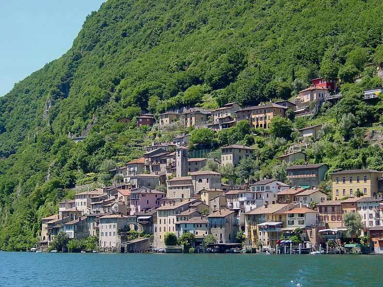 Gandria - 4 km from the very center of Lugano