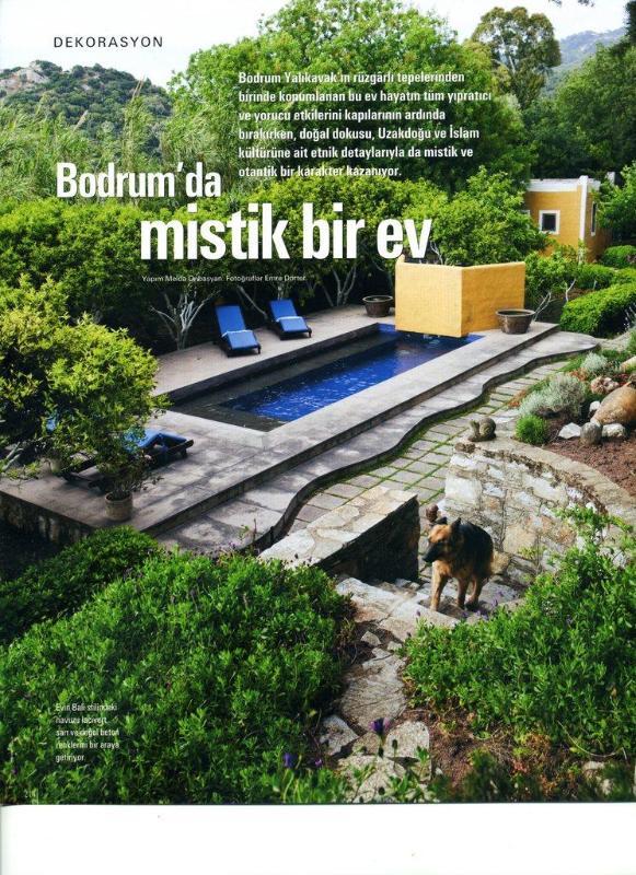 Maison Francaise Magazine - salt water pool