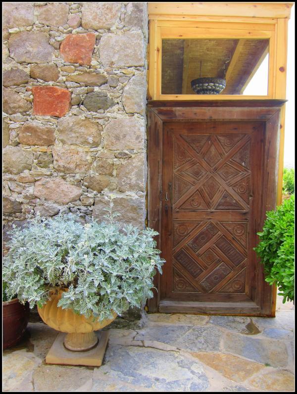 Iassus antique Bodrum front door