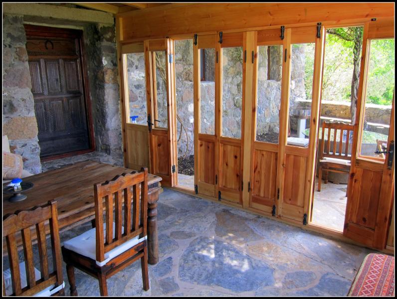 Glass pine room