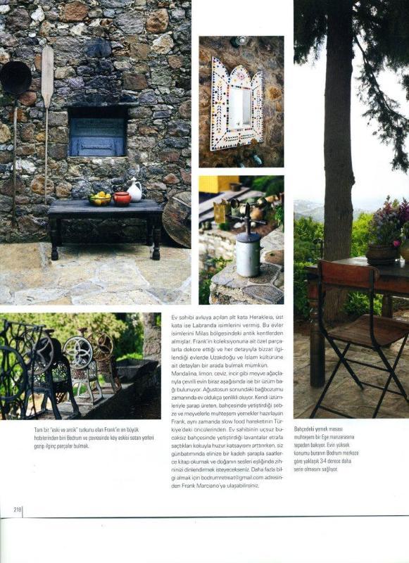 Maison Francaise Magazine - Courtyard