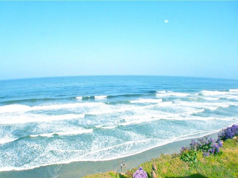 Ocean waves from yard