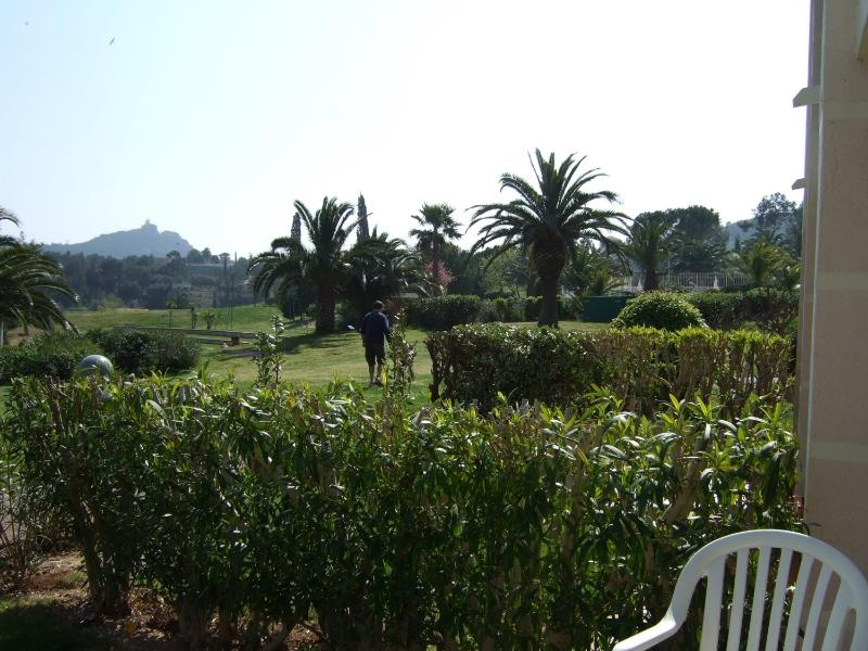 View towards amphitheatre