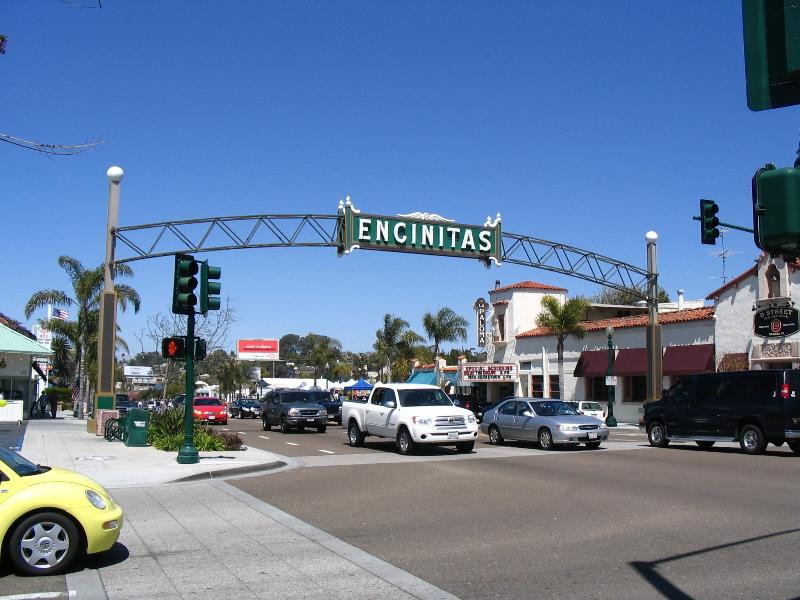 Welcome to down town Encinitas!