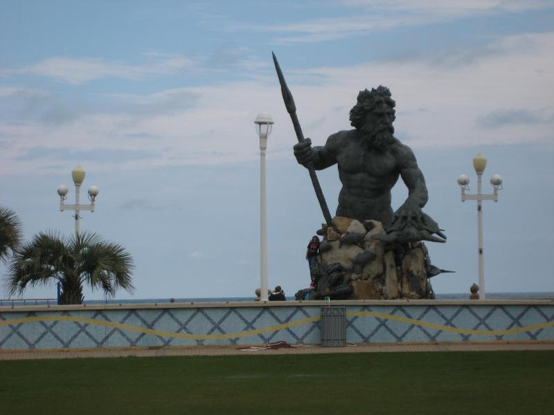 KING NEPTUNE WATCHES OVER US