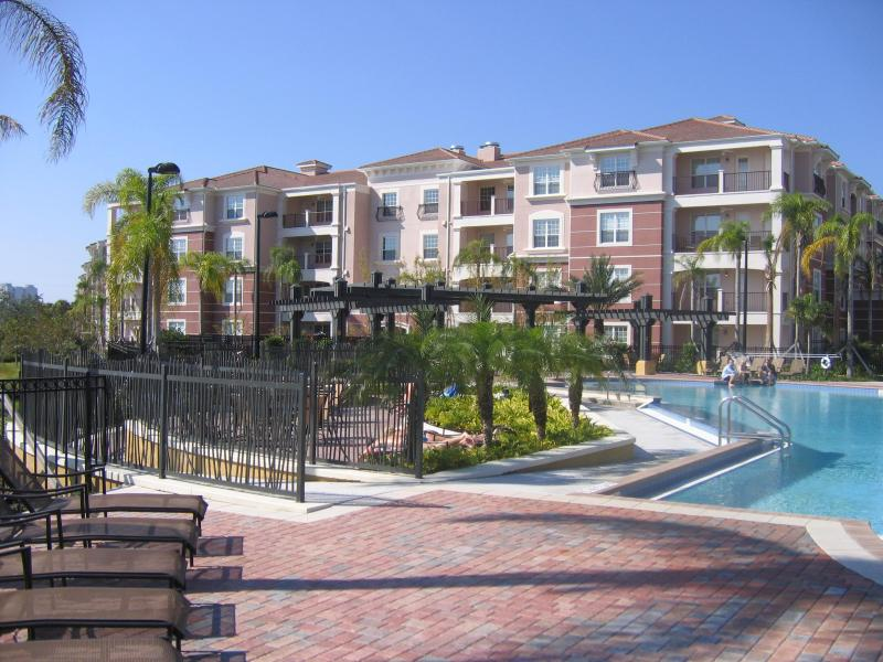 Beautiful Pool Side Condo Building