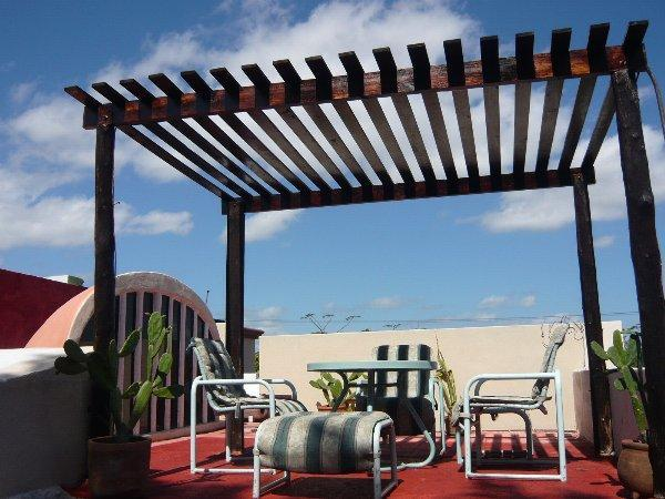 Pergola of the Roof Top Terrace