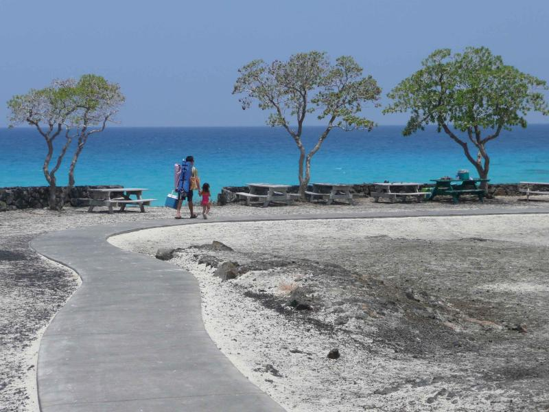Mi playa favorita - temprano en la mañana con pocos visitantes