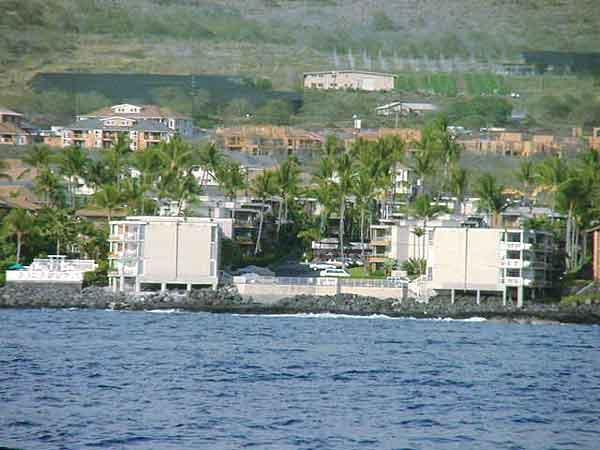 Complejo está situado en el océano - somos el segundo edificio