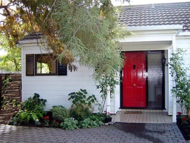 Porta vermelha Cottage