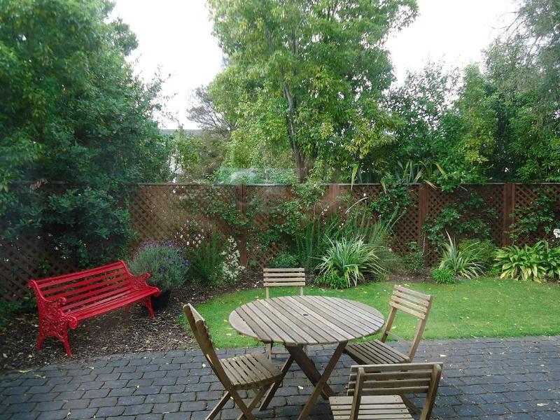 Asientos de jardín al aire libre