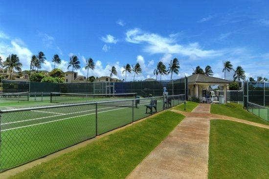 Poipu Kai Tennis Courts.