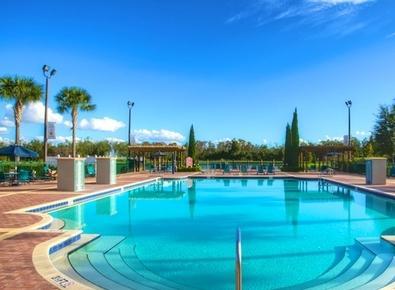 Take a Dip at the community pool..