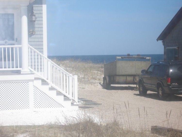 plage privée chemin acess