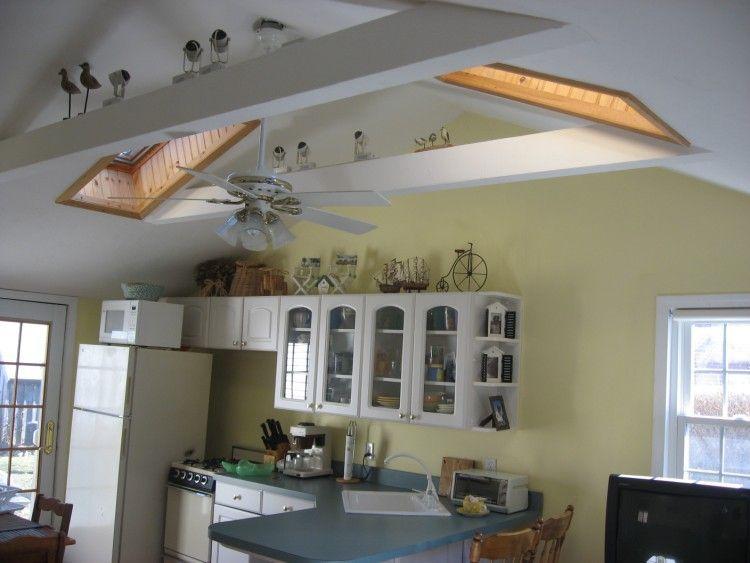 Hoge plafonds met dakramen