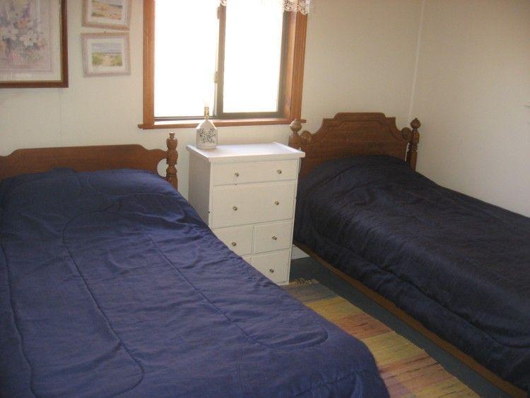 Slaapkamer met tweeling