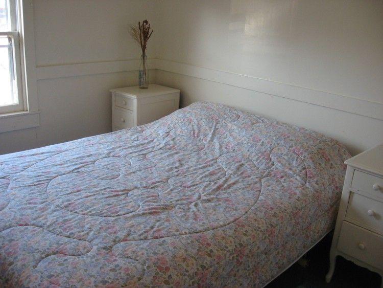 Slaapkamer met Queen bed