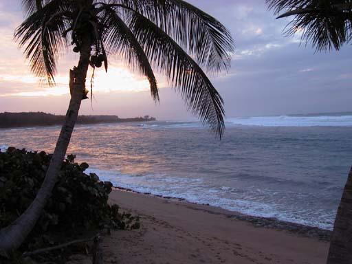 Sunset at Shacks Beach
