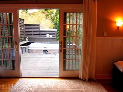 Villa Tranquila, In-Deck Spa, Wine Country, Sonoma Co.
