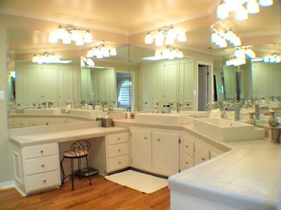 Villa Tranquila, Master Bathroom, Huge Double Vanity