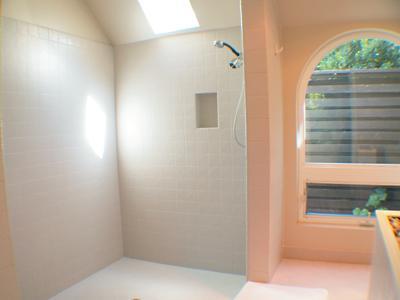 Villa Tranquila, Master Bath Shower, Full Master Suite
