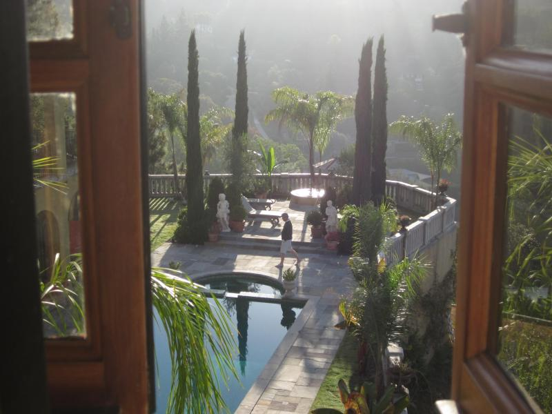 View from Main House.