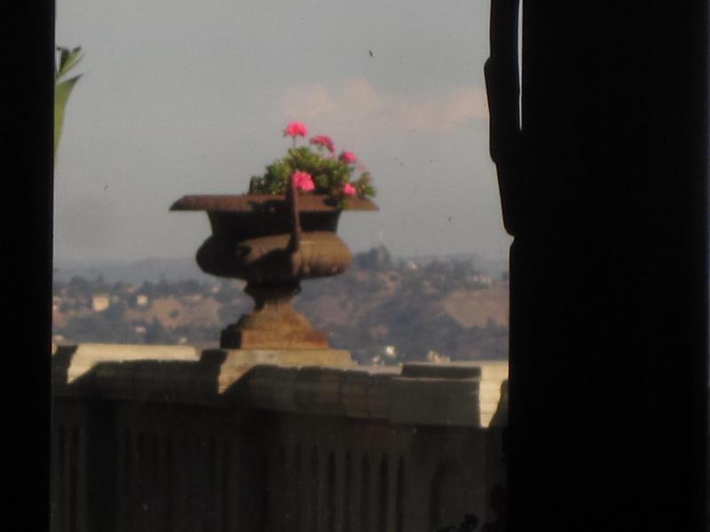 vue Los Angeles à partir de La Villa Sophia - ressemble à la campagne à partir d'ici.
