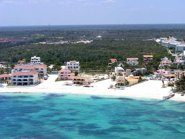 Playa Paraiso Beach Aerial