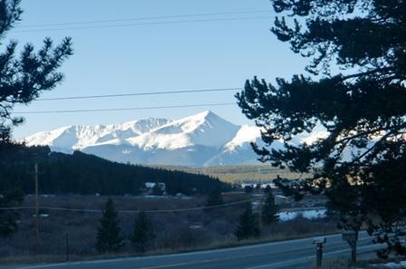 Vue du Mont Elbert