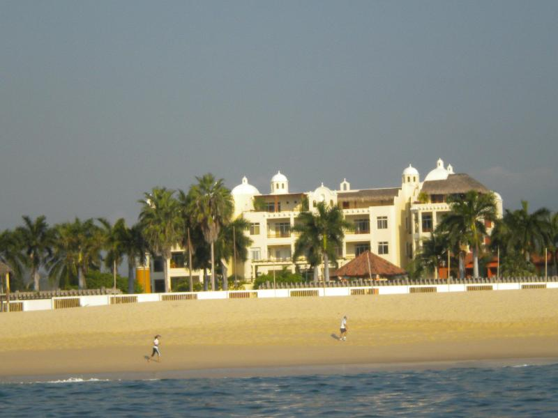 View of Sueno del Mar from the sea-we await your visit!