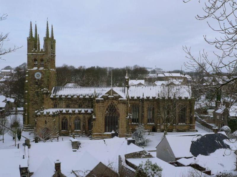 Tideswell Church St John the Baptist, February 2012