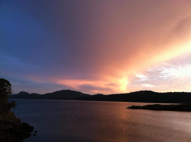 Spectacular Sunset in Eastsound