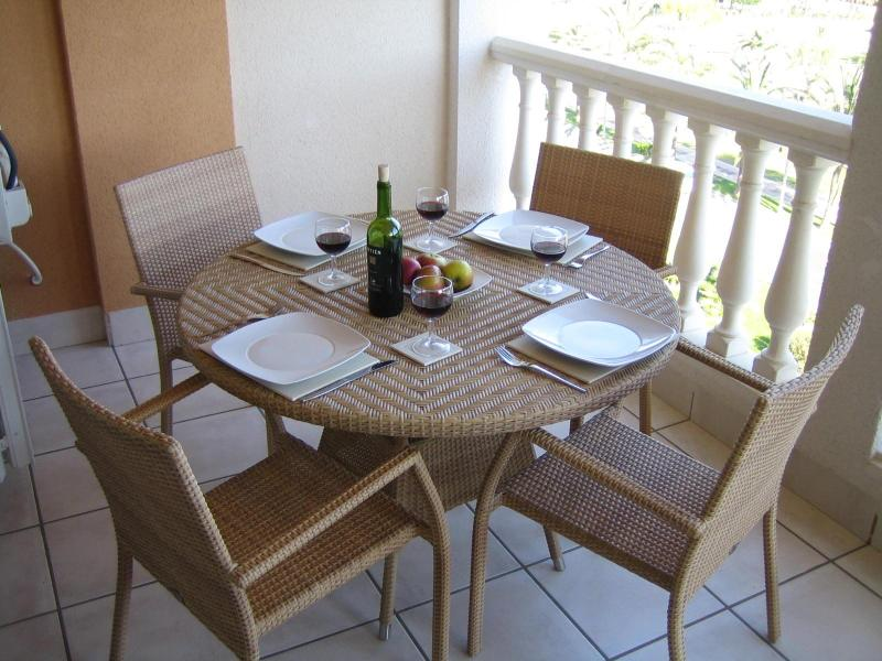Enjoy dining 'al fresco' on spacious terrace