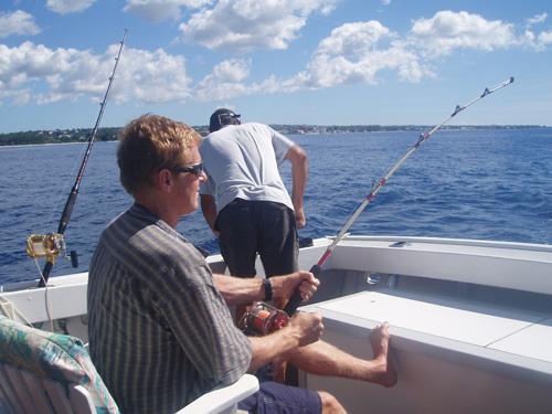 Deep Fishing in Barbados