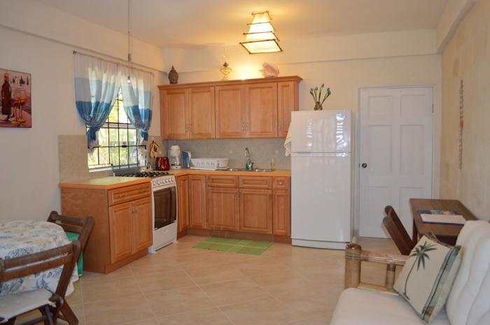 Sea-view Apartment - Living Kitchen Area