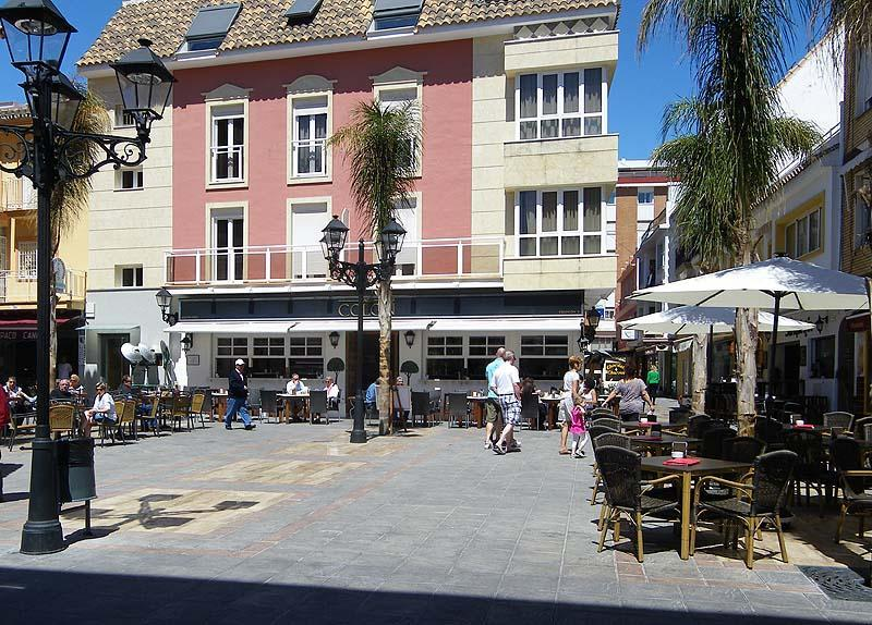 There are plenty of good street cafes and pretty plazas from which to watch the world go by