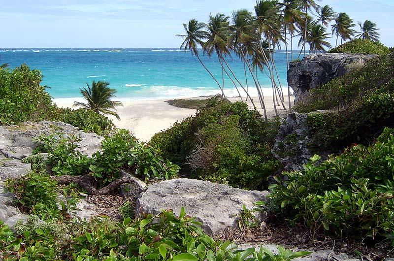 Beautiful 'Bottom Bay' - everybody's dream Caribbean beach - except this is the Atlantic coast!