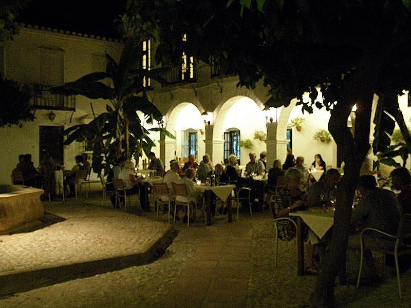 Fine dining is available in Fuengirola; this is Pueblo Lopez