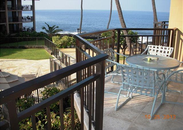 Ocean View Lanai - nearly ocean front!