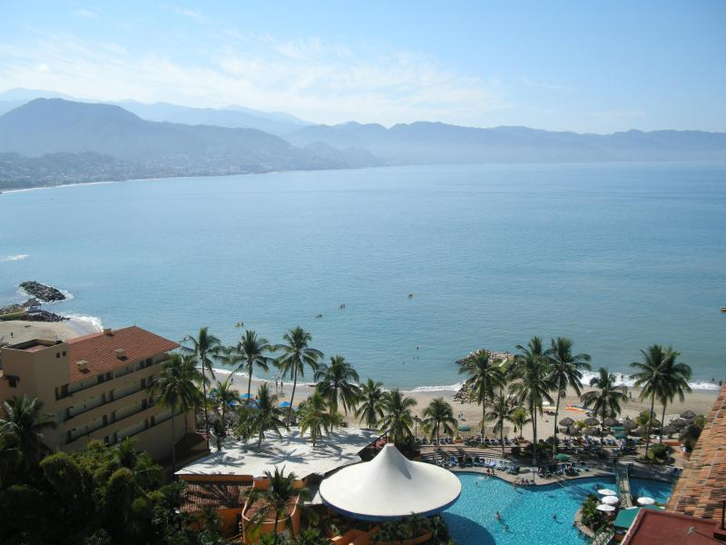 View of Banderas Bay from the balcony
