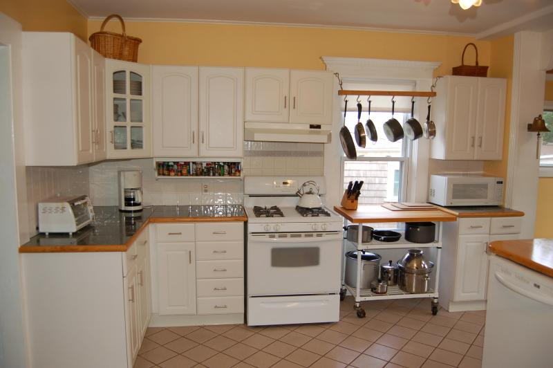 área de preparación de alimentos de la cocina