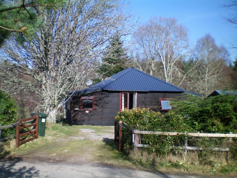 Rowan Cottage jouw Highland Hideaway! Charmant houten huisje voor 4 in de buurt van Loch Ness. Honden welkom.